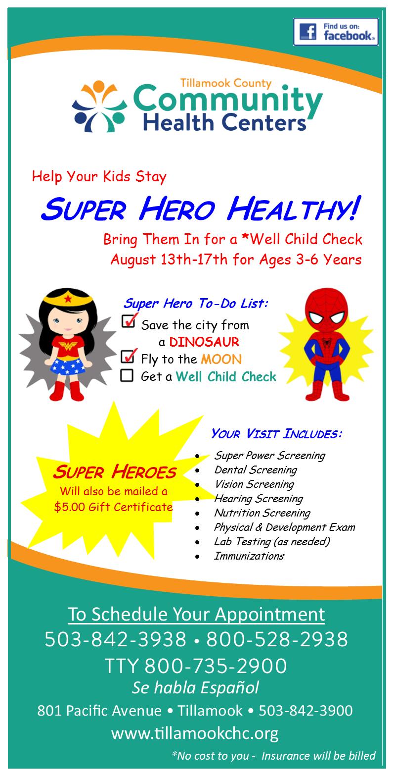 Wcc 3 16 Aug 13 17 Super Hero Tillamook County Community